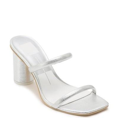 ドルチェヴィータ レディース サンダル シューズ Noles Square Toe Leather Slide Sandals