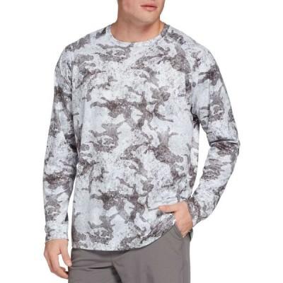 フィールドアンドストリーム Field & Stream メンズ トップス Tech Printed Long Sleeve Shirt Sea Tide Camo Grey