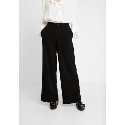 キャリン ウェスター カジュアルパンツ レディース ボトムス TROUSERS FREIDA - Trousers - black