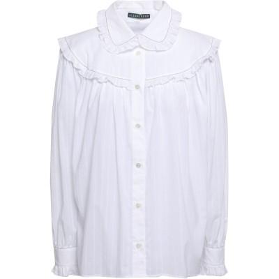 ALEXACHUNG シャツ ホワイト 8 コットン 100% シャツ