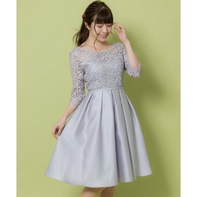 ドレス レース切替ドレス(9R04-51007)