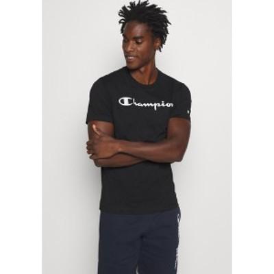 チャンピオン メンズ Tシャツ トップス LEGACY CREWNECK - Print T-shirt - black black
