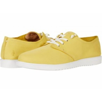 Hush Puppies ハッシュパピーズ レディース 女性用 シューズ 靴 スニーカー 運動靴 The Everyday Lace-Up Sun Yellow Nubuck【送料無料】