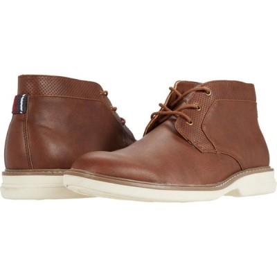ベンシャーマン Ben Sherman メンズ ブーツ チャッカブーツ シューズ・靴 Stateside Chukka Chestnut PU