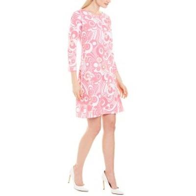 メリーエム レディース ワンピース トップス Melly M Shift Dress pink