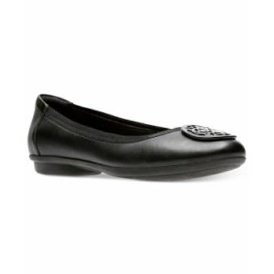 クラークス レディース サンダル シューズ Collection Women's Gracelin Lola Flats Black Leather
