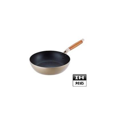 【まとめ買い10個セット品】エレク アルミ深型フライパン 26cm F-7057