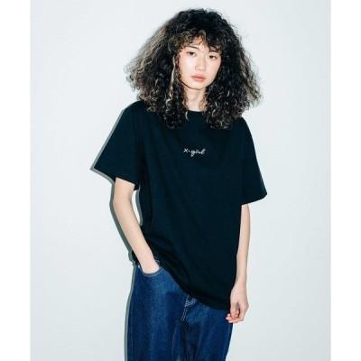 tシャツ Tシャツ EMBROIDERED CURSIVE LOGO S/S TEE