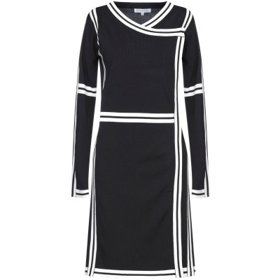 シルビアンヒーチ SILVIAN HEACH ミニワンピース&ドレス ブラック XS レーヨン 65% / ナイロン 35% ミニワンピース&ドレス
