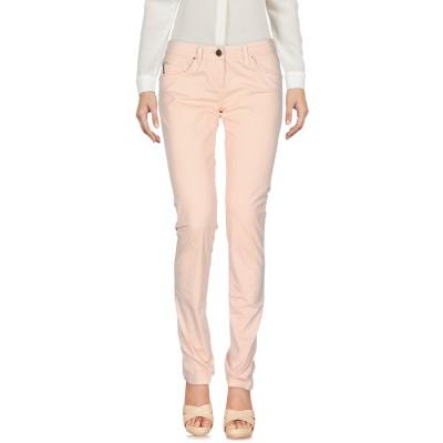 ELISABETTA FRANCHI JEANS パンツ ライトピンク 27 コットン 96% / ポリウレタン® 4% パンツ