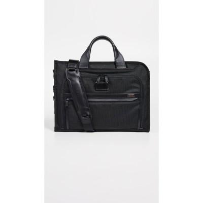 トゥミ Tumi メンズ ビジネスバッグ・ブリーフケース バッグ Alpha Slim Deluxe Portfolio Black
