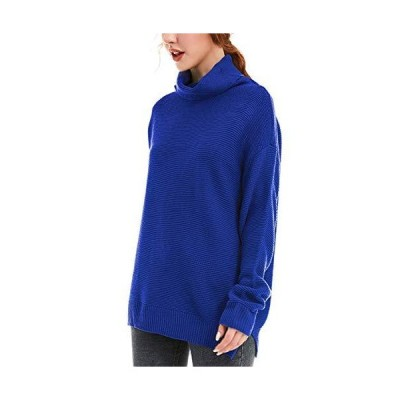 GOLDPKF Womens Winter Long Knitted Sweater Jumper Dress Fall Blouses for Wo
