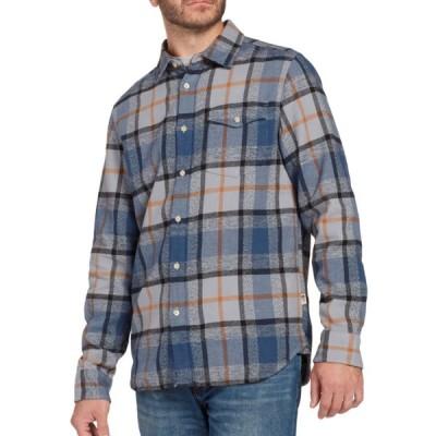 THE NORTH FACE ザ・ノースフェイス メンズ Arroyo Long Sleeve Flannel Shirt シャツ ネルシャツ チェック グレー NF0A3YRO