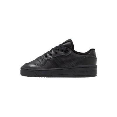 アディダスオリジナルス スニーカー メンズ シューズ RIVALRY - Trainers - core black/footwear white