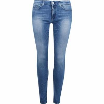 リプレイ Replay レディース ジーンズ・デニム ボトムス・パンツ Luz Power Stretch Skinny Jeans Mid Wash