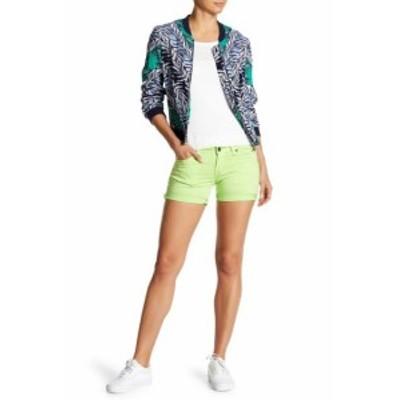 Big Star ビッグスター ファッション パンツ Big Star NEW Green Womens Size 30 Low Rise Fit Khaki Chino Shorts