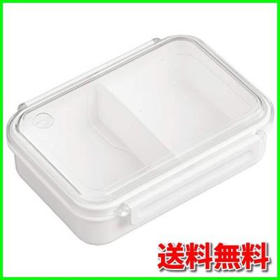 OSK 弁当箱 まるごと 冷凍弁当 ホワイト 650ml タイトボックス レシピ付 (日本製) PCL-3SR