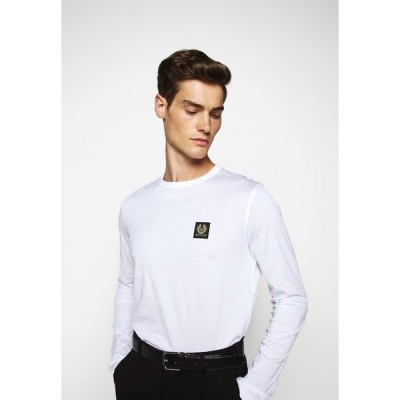 ベルスタッフ カットソー メンズ トップス LONG SLEEVED  - Long sleeved top - white