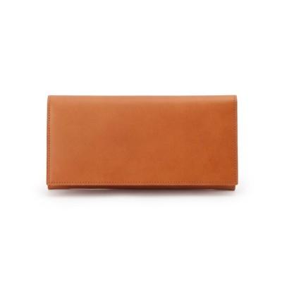 UNBUILT TAKEO KIKUCHI(アンビルト タケオキクチ) カウレザーフラップ長財布