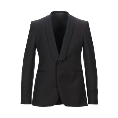 タリアトーレ TAGLIATORE テーラードジャケット ディープパープル 48 スーパー130 ウール 100% テーラードジャケット