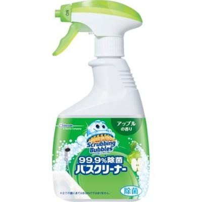 スクラビングバブル 99.9%除菌バスクリーナー アップルの香り 本体 (400ml)