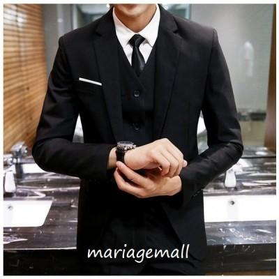 ビジネススーツ メンズスーツ オールシーズン対応 ズボン スーツセット 上下セット ビジネス 就活 4色