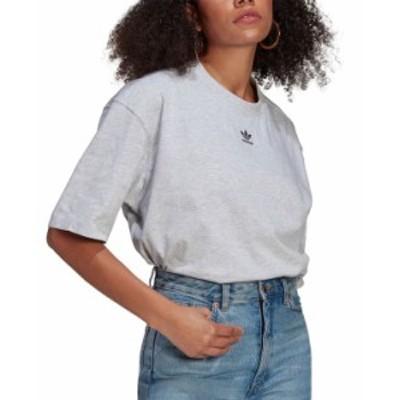 アディダス レディース シャツ トップス Women's Cotton Trefoil T-Shirt Green