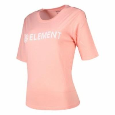 element エレメント ファッション 女性用ウェア Tシャツ element element-logo-crop