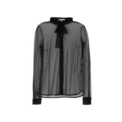 パトリツィア ペペ PATRIZIA PEPE シャツ ブラック 44 ポリエステル 100% シャツ