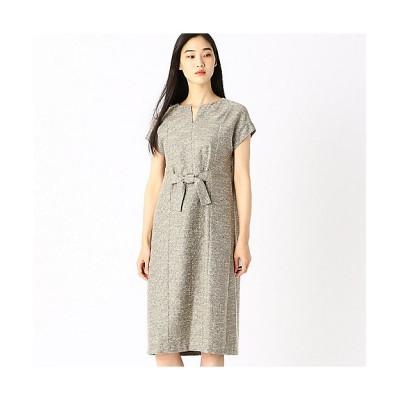 <COMME CA(Women)/コムサ> ラメツイード調ジャカードドレス(0102OP02) 02【三越伊勢丹/公式】