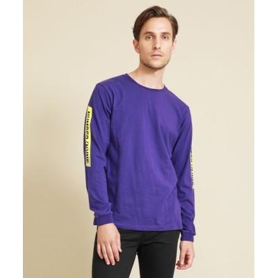 tシャツ Tシャツ 【NUMBER (N)INE DENIM】スリーブラインロゴ LT-Shirt NDT-20020