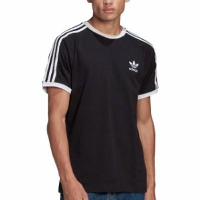 アディダスオリジナルス adidas Originals メンズ スリーストライプ Tシャツ 3 STRIPES TEE [14212/GN3495 SS21] トップス 半袖 ブラック
