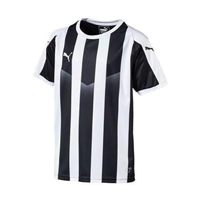 プーマ LIGA ストライプ ゲームシャツ ジュニア 品番:703633 カラー:PUMA BLACK−PU(03)...