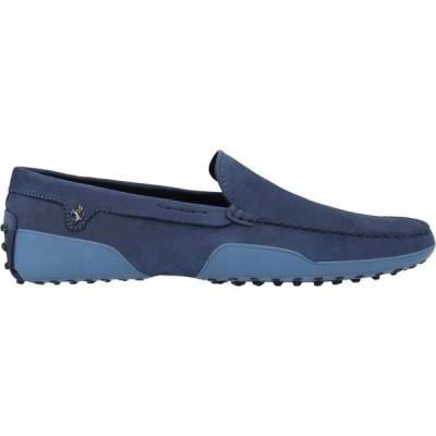 トッズ TOD'S for FERRARI メンズ ローファー シューズ・靴 loafers Slate blue
