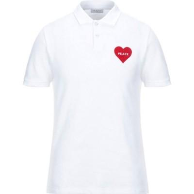 サンドロ SANDRO メンズ ポロシャツ トップス polo shirt White