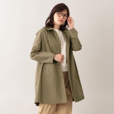 【2019春夏モデル】【耐久はっ水】【防シワ】コットンレインクロスフーデッドコート
