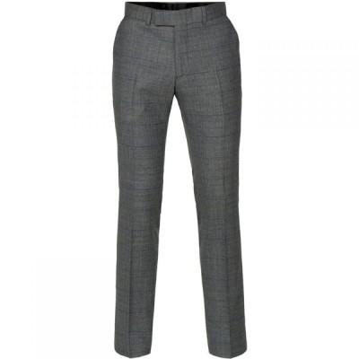 ギブソン Gibson メンズ スラックス ボトムス・パンツ Blue Textured Trousers Sea Blue