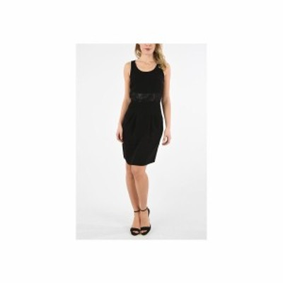 ARMANI EXCHANGE/アルマーニ エクスチェンジ Black レディース ARMANI EXCHANGE Sequin embellish Dress dk