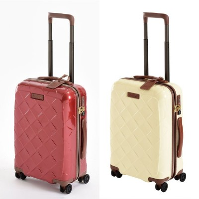 (Mサイズ 4輪/65L/3.43kg)Stratic(ストラティック)/「Leather & More」日本限定版 ハードスーツケース 中型(3-9902-65)|キャリーケース・キャ… NV3310