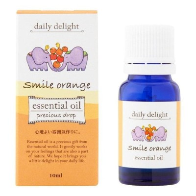 精油 アロマオイル アロマ ディフューザー 香り 癒し ブレンドエッセンシャルオイル スマイルオレンジ