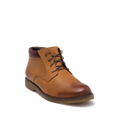 ジョンストンアンドマーフィー メンズ ブーツ&レインブーツ シューズ Saunders Plain Toe Boot TAN