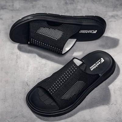 新作サンダル メンズ スリッパ  サボサンダル 軽量 軽い 幅広 通気性 クロッグ カジュアル 2色 おしゃれ スポーツサンダル