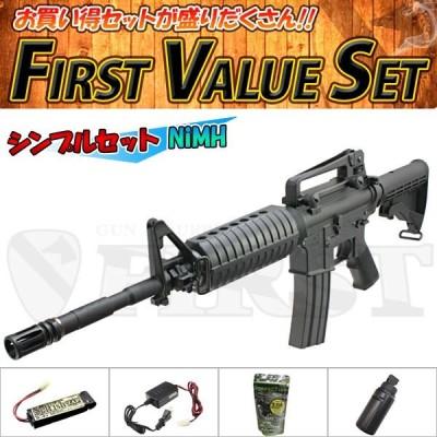 (5点セット品) 東京マルイ 次世代電動ガン M4A1 SOCOMカービン Bシンプルセット エアガン 18歳以上用