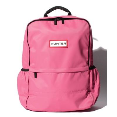 【ハンター】 ORIGINAL NYLON BACKPACK レディース ピンク系 ONE HUNTER