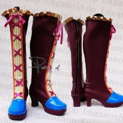 VOCALOID(ボーカロイド)波音リツ公式 専用ブーツ、靴★ コスプレ道具/小物 *D135