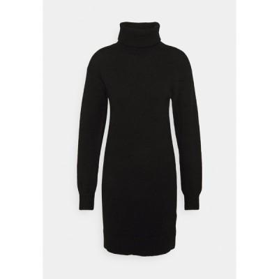 ジン ワンピース レディース トップス Jumper dress - black