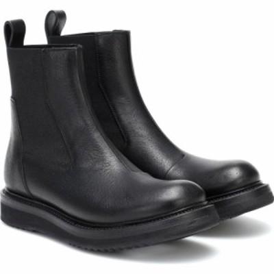 リック オウエンス Rick Owens レディース ブーツ ショートブーツ シューズ・靴 Creeper leather ankle boots