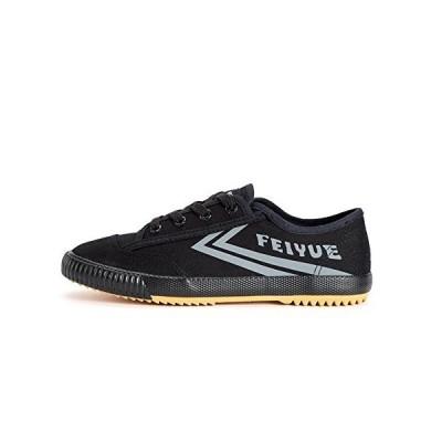 Feiyueシューズ改善された, レトロ 武道の靴 カンフーシューズ キャンバスシューズ (Europe 34 ブラック)