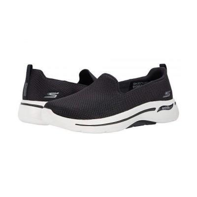 SKECHERS Performance スケッチャーズ レディース 女性用 シューズ 靴 スニーカー 運動靴 Go Walk Arch Fit - Black/White