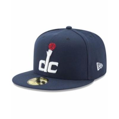 ニューエラ メンズ 帽子 アクセサリー Washington Wizards Basic 59FIFTY Fitted Cap 2018 Navy